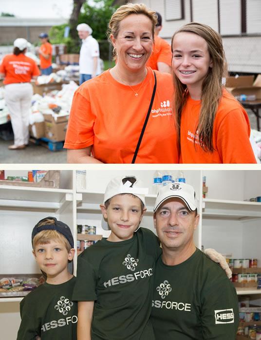 target-hunger-familiy-volunteer